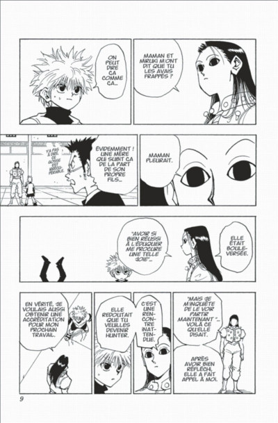 Page 9 hunter x hunter tome 5