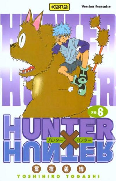 Couverture hunter x hunter tome 6