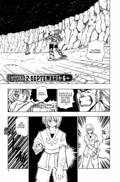Page 7 hunter x hunter tome 10