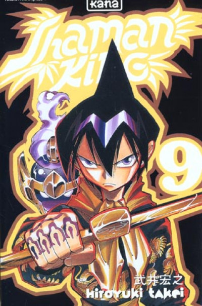 Couverture shaman king tome 9