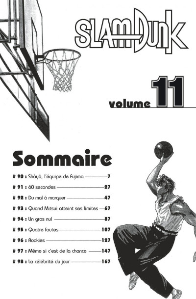 Page 6 slam dunk tome 11