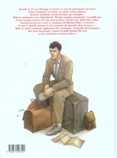 Dos dexter london tome 1 - aventurier professionnel