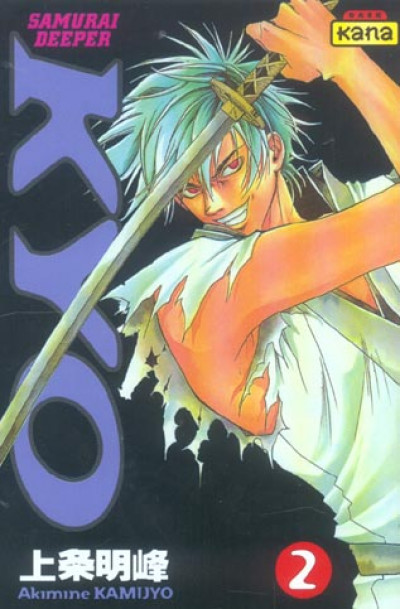 Couverture kyo tome 2
