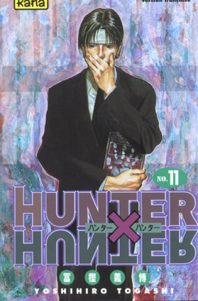 Couverture hunter x hunter tome 11