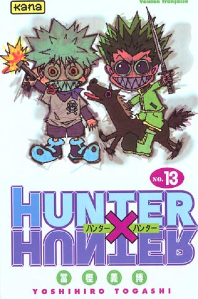 Couverture hunter x hunter tome 13