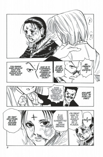 Page 9 hunter x hunter tome 13