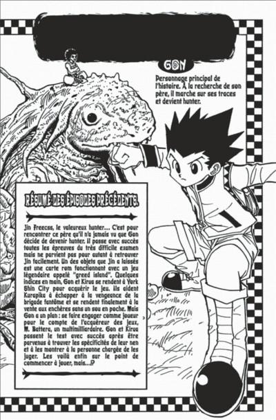 Page 4 hunter x hunter tome 14