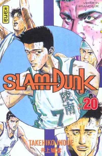 Couverture slam dunk tome 20