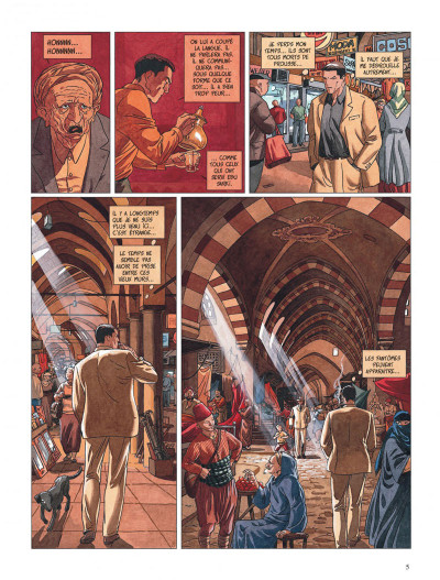 Page 5 djinn tome 2 - les 30 clochettes