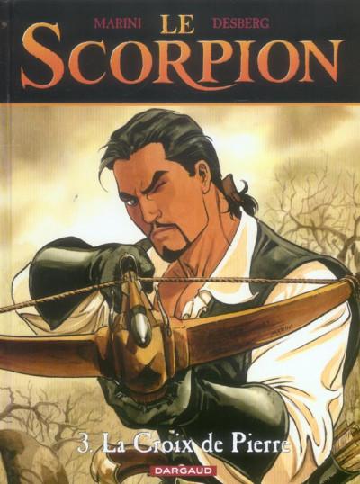 Couverture le scorpion tome 3 - la croix de pierre
