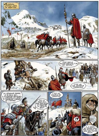 Page 1 le scorpion tome 3 - la croix de pierre