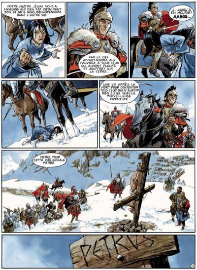 Page 3 le scorpion tome 3 - la croix de pierre