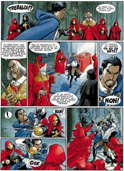 Page 5 le scorpion tome 3 - la croix de pierre