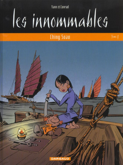 image de les innommables tome 4 - ching soao