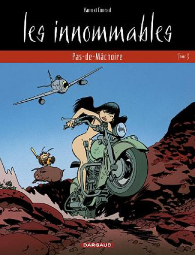 Couverture les innommables tome 9