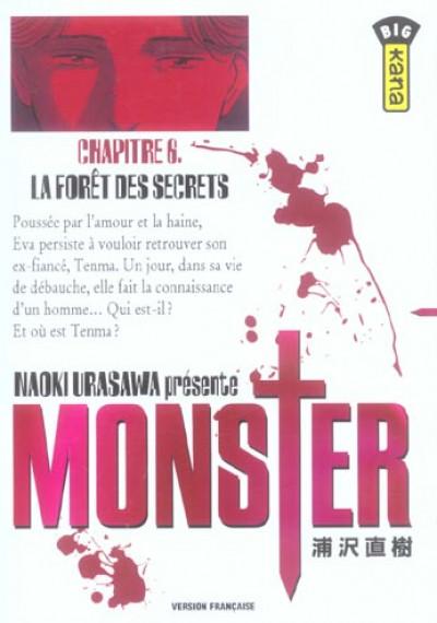 Couverture monster tome 6 - la forêt des secrets