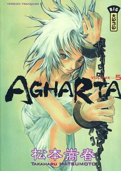 Couverture agharta tome 5