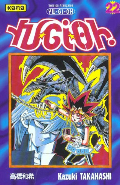 Couverture yu-gi-oh tome 22