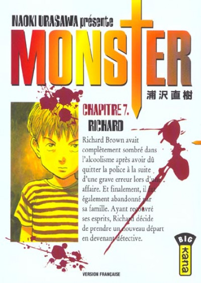 Couverture monster tome 7 - richard