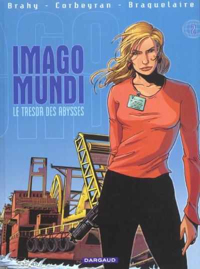 Couverture imago mundi tome 2 - le trésor des abysses