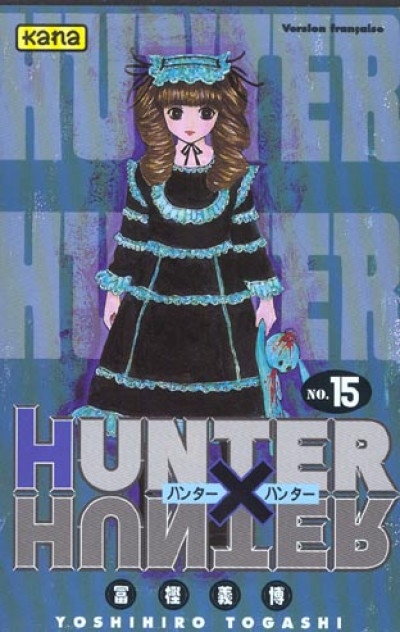 Couverture hunter x hunter tome 15
