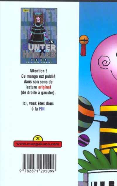 Dos hunter x hunter tome 15