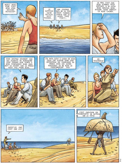 Page 2 dexter london tome 2 - la traversée du désert