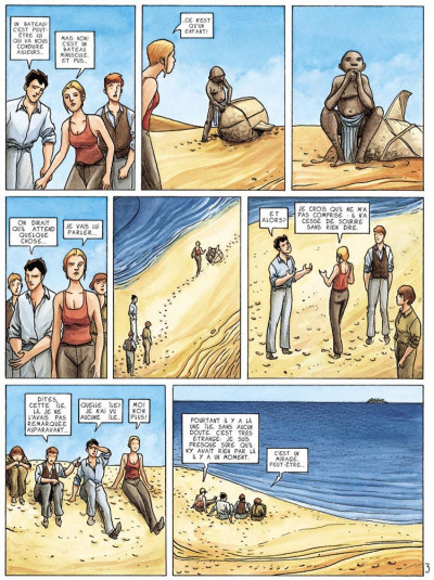 Page 3 dexter london tome 2 - la traversée du désert