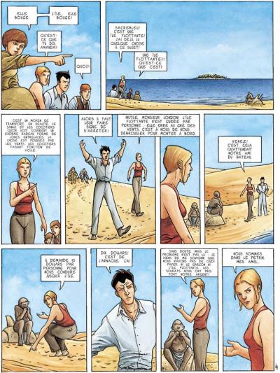 Page 4 dexter london tome 2 - la traversée du désert