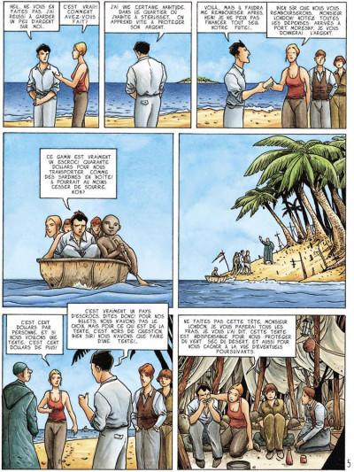 Page 5 dexter london tome 2 - la traversée du désert