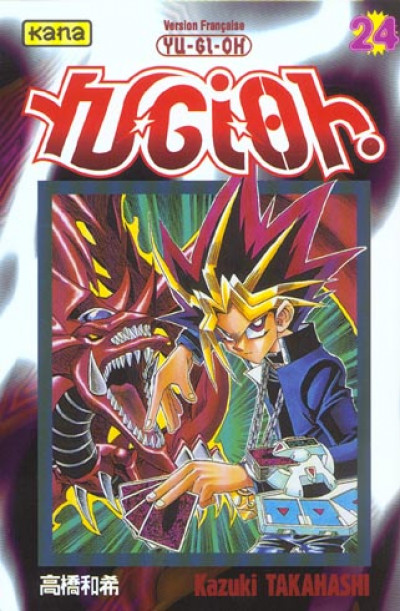 Couverture yu-gi-oh tome 24
