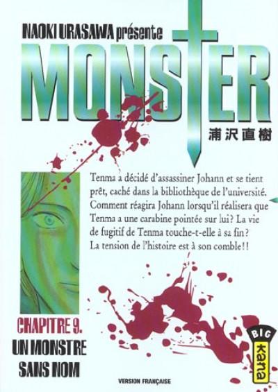 Couverture monster tome 9 - un monstre sans nom