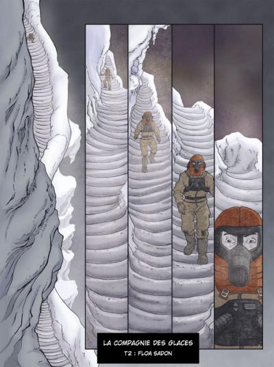 Page 1 la compagnie des glaces - cycle jdrien tome 2 - floa sadon