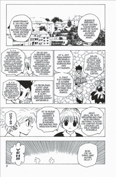 Page 9 hunter x hunter tome 16