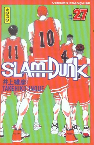 Couverture slam dunk tome 27