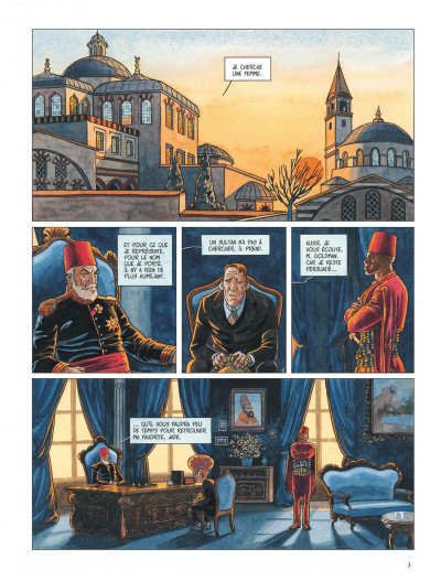 Page 3 djinn tome 3 - le tatouage