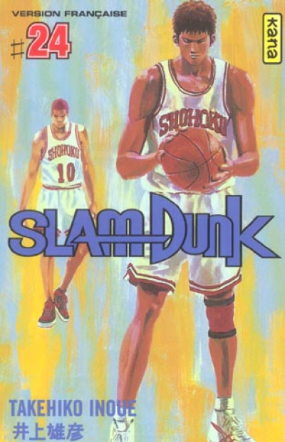 Couverture slam dunk tome 24