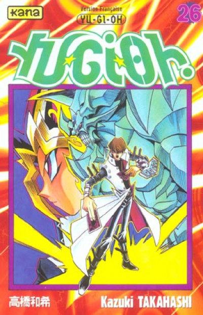 Couverture yu-gi-oh tome 26