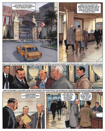Page 3 le janitor tome 1 - l'ange de malte