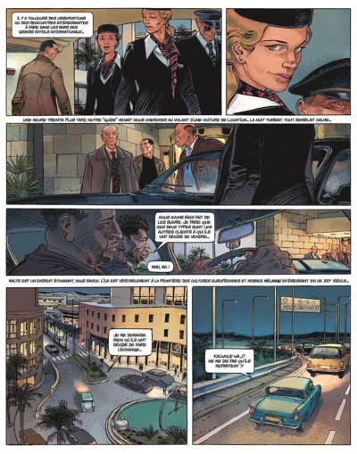 Page 4 le janitor tome 1 - l'ange de malte