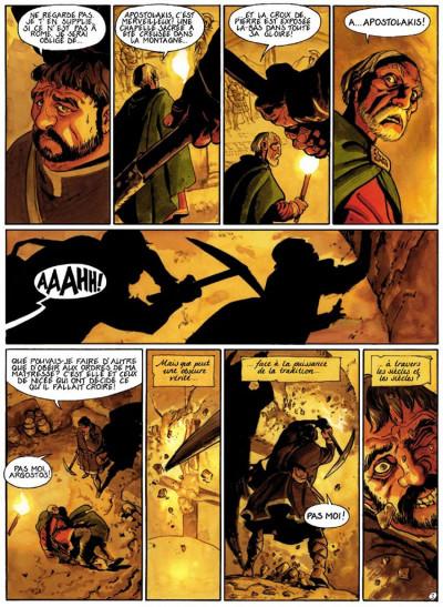 Page 3 le scorpion tome 4 - le démon du vatican