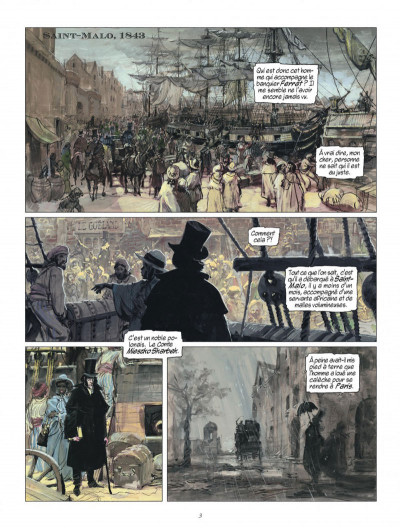 Page 3 la vengeance du comte skarbek tome 1 - deux mains d'or