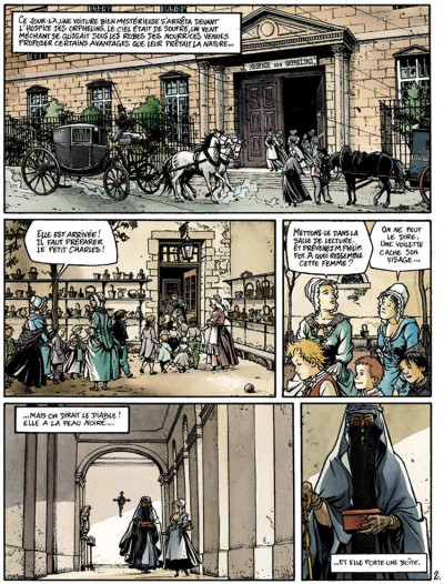 Page 2 Double masque tome 1