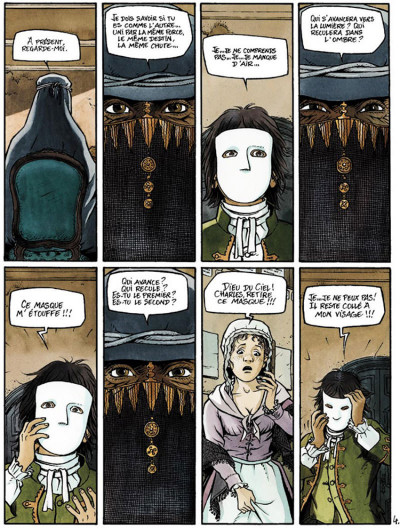 Page 4 Double masque tome 1