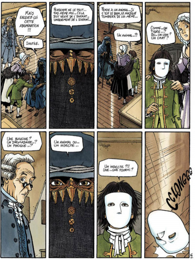 Page 5 Double masque tome 1