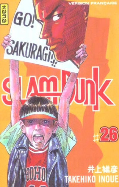 Couverture slam dunk tome 26