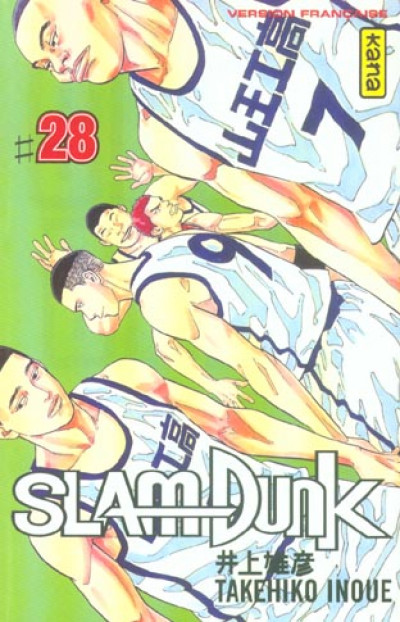 Couverture slam dunk tome 28