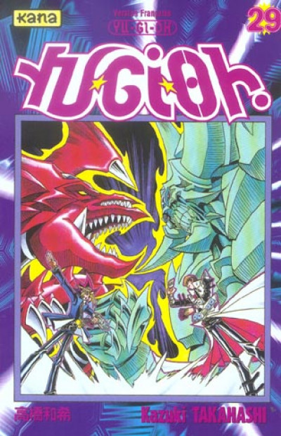 Couverture yu-gi-oh tome 29