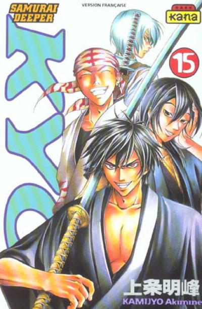 Couverture kyo tome 15