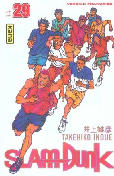 Couverture slam dunk tome 29